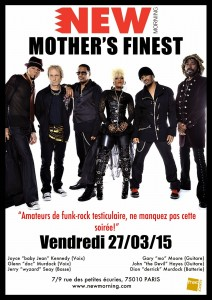 Mothers Finest au New Morning