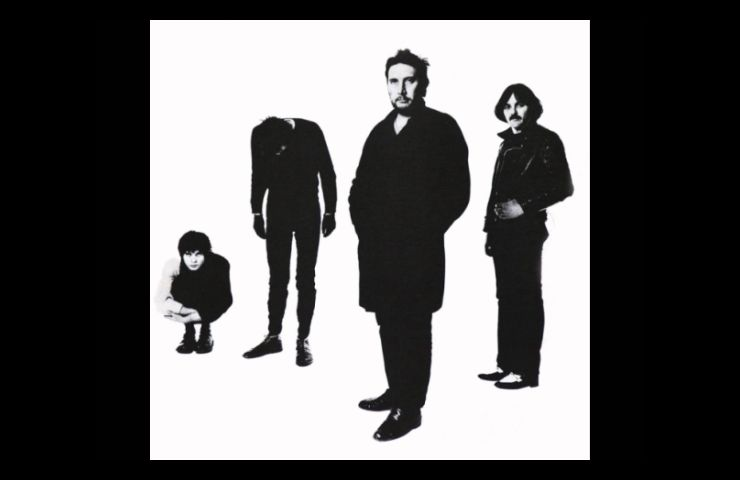 black and white des Stranglers