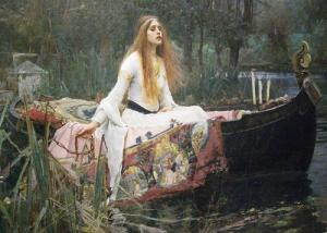 Kyrie Kristmanson waterhouse lady of shalott