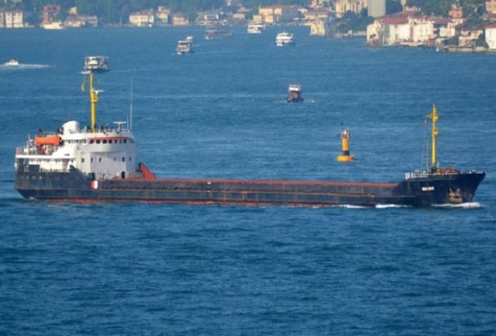 cargo Azov sea