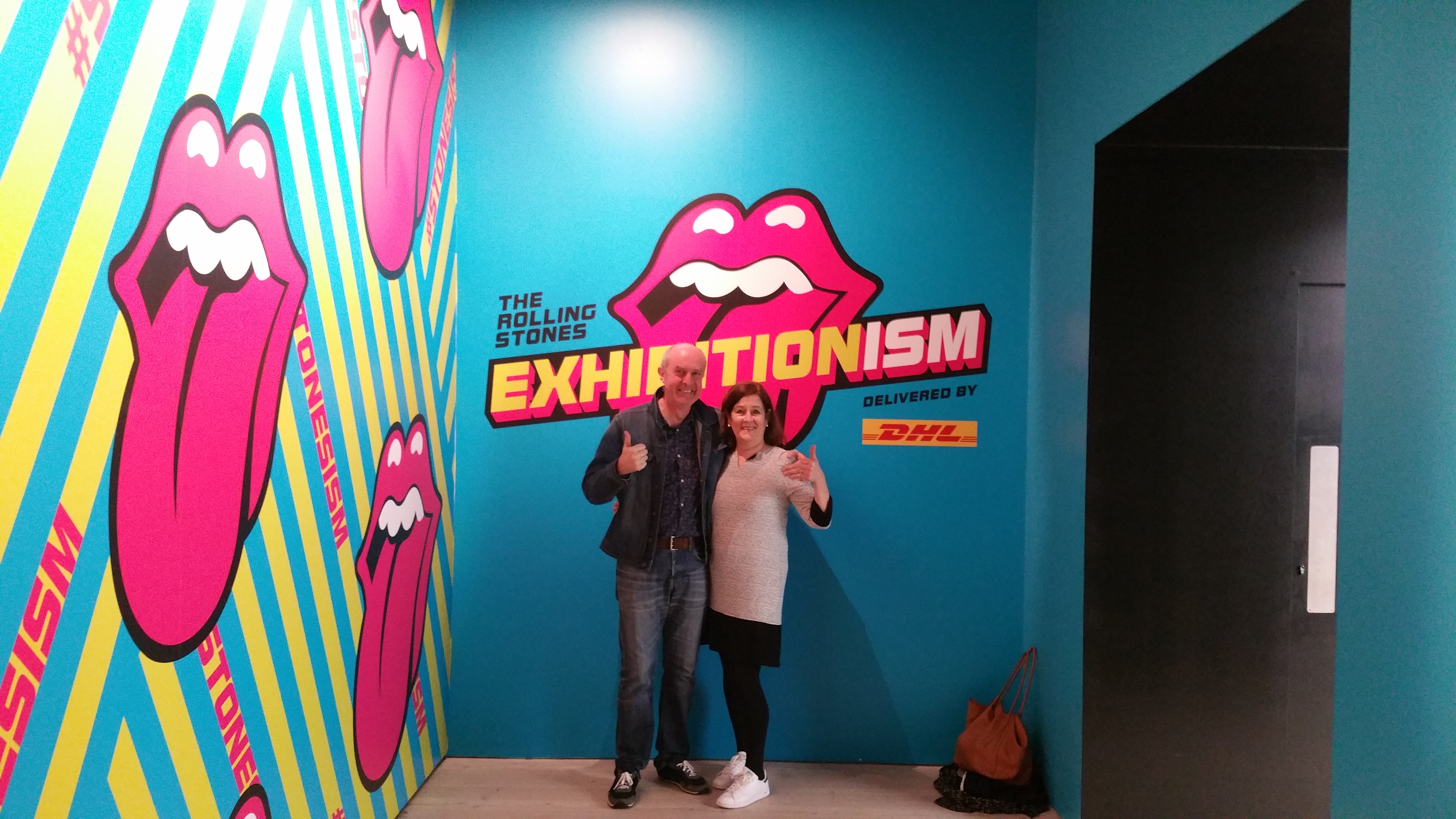 Rolling Stones Exhibitionism in London