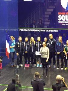 équipe france squash féminine championne du monde