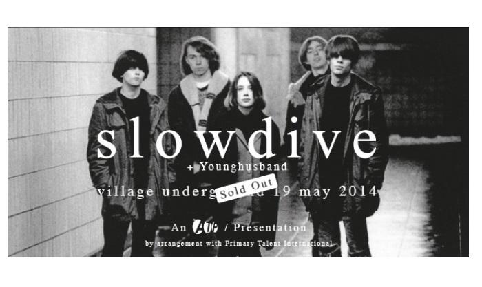 Slowdive-Village Underground concert 2014