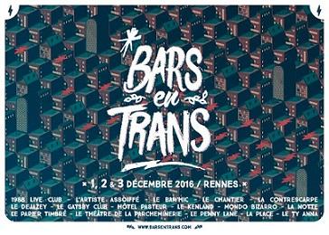 Affiche Bars en Trans 2016