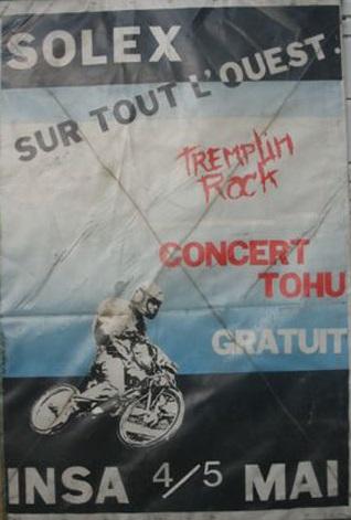 Affiche ROCK_N SOLEX 1985