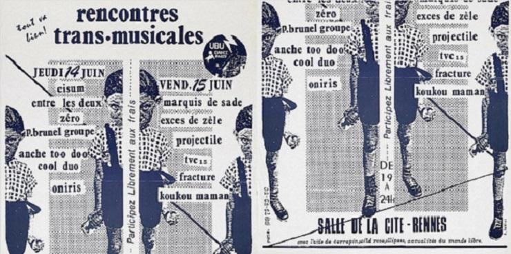 Affiche Transmusicales 1979