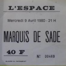 billet MDS avril 1980 L'Espace Rennes