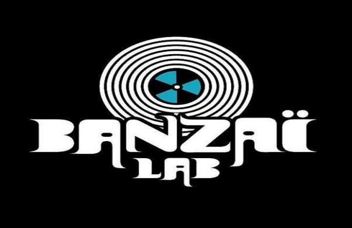 Logo Noir & Bleu BanzaiLab