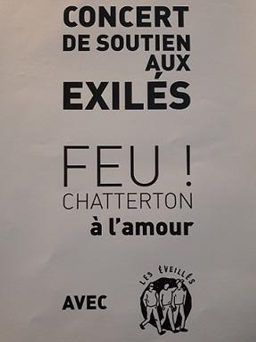Affiche concert FEU! CHATTERTON @L_Amour 05.07.2017