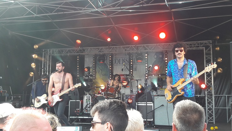 Big Mountain County @Binic Folks Blues Festival 29.07.2017