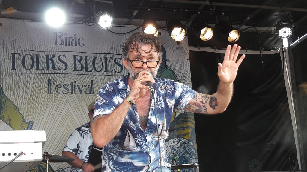 Shifting Sands - Geoff Corbett @Binic Folks Blues Festival 29.07.2017