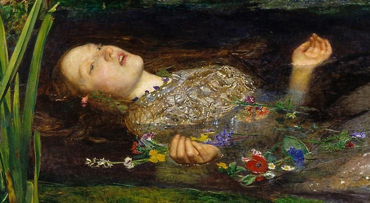 Ophélia de John Everett Millais