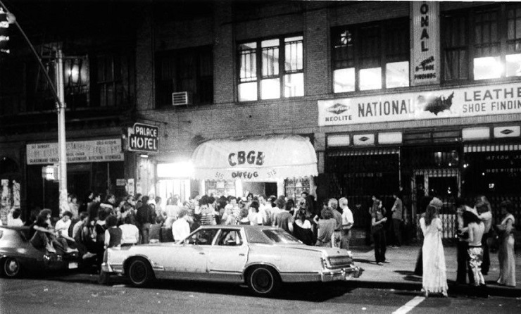CBGB 315 Bowery 1977 by David Godlis