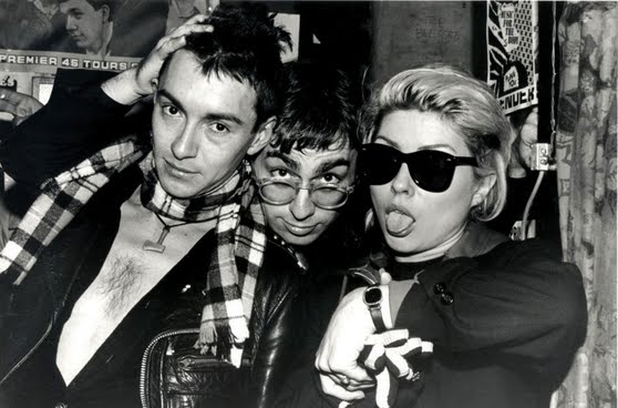 Debbie Harry_Chris Stein & Arturo Vega - 1978