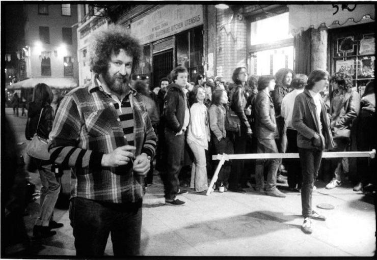 Hilly Kristal - propriétaire du CBGB_2 1977