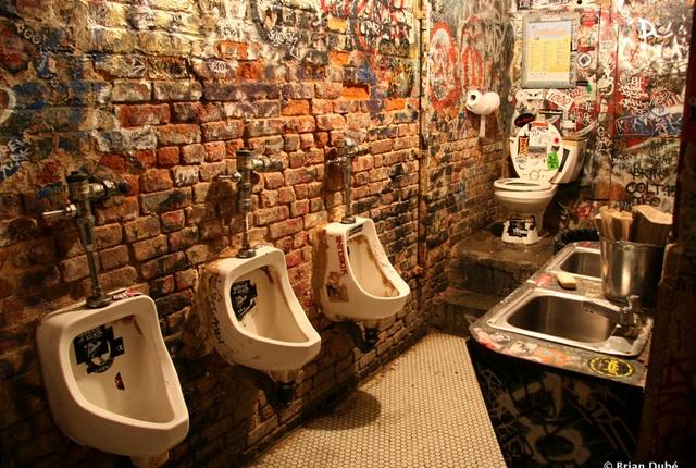 Toilettes hommes @CBGB