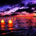 Image à la une - lumières flottantes