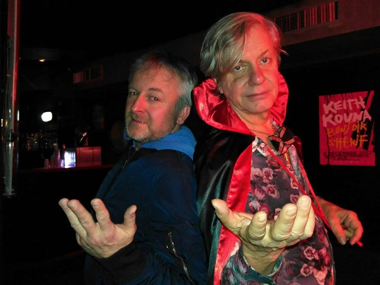 Peter Zaremba (The Fleshtones) & Alechinsky @Petit Bain Paris_30.11.2017