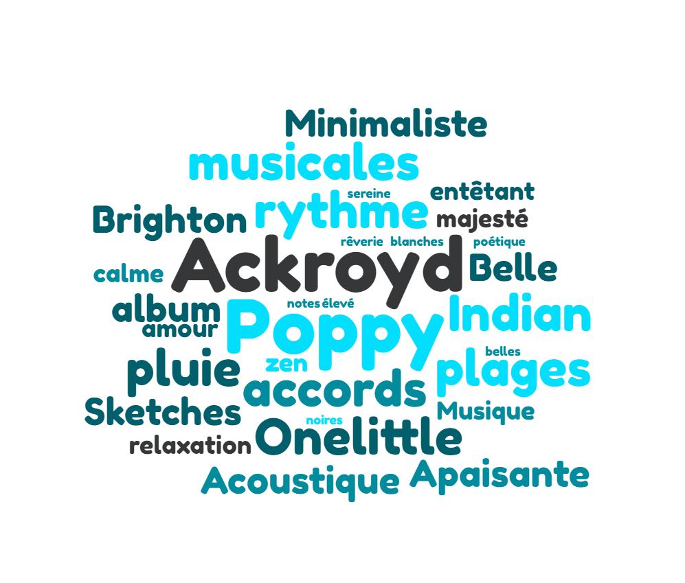 nuage-de-mots POPPY ACKROYD