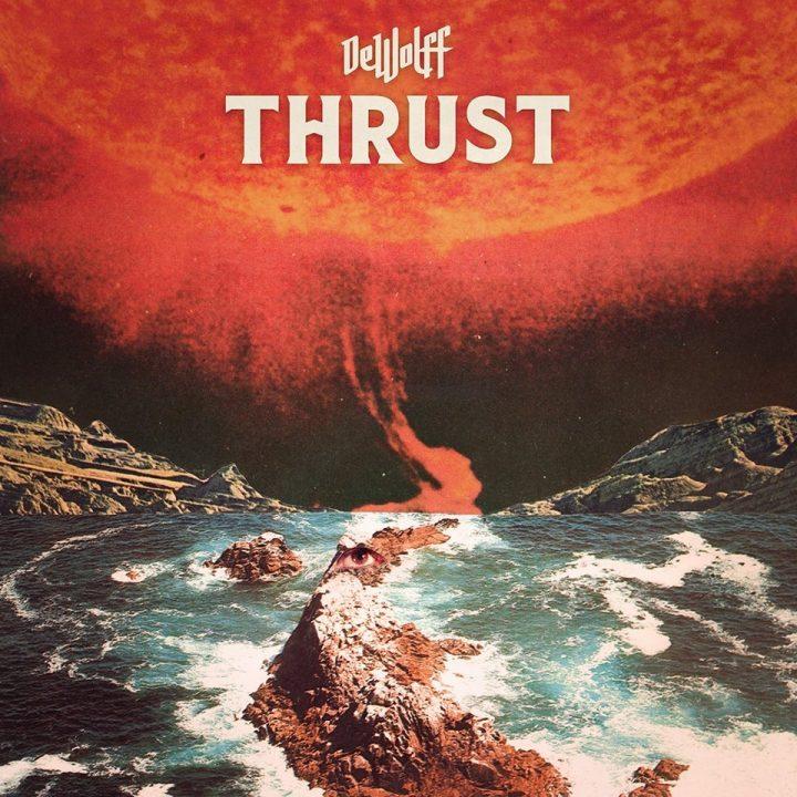 """jaquette album """"thrust"""" de dewolff"""