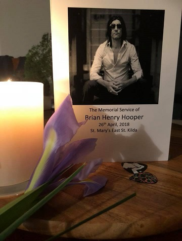 Memorial Service Brian Henry Hooper 26th april 2018