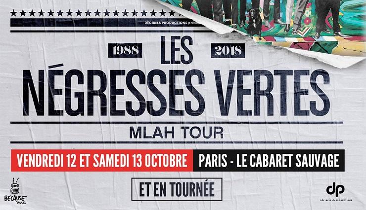 Negresses-Vertes tournée 2018