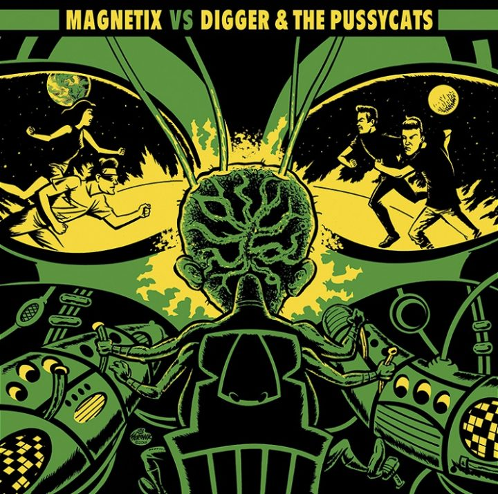 MAGNETIX VS DIGGER & THE PUSSYCATS artwork