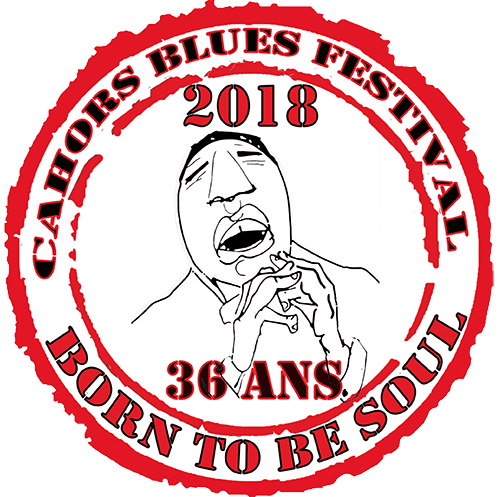 Cahors Blues Festival 2018 logo