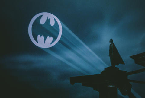 batman spot light