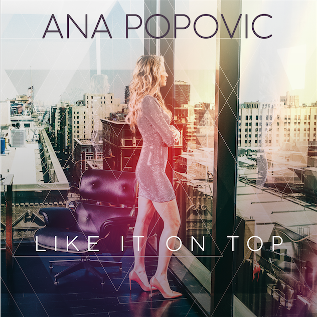 Ana Popovic like it on top album cover