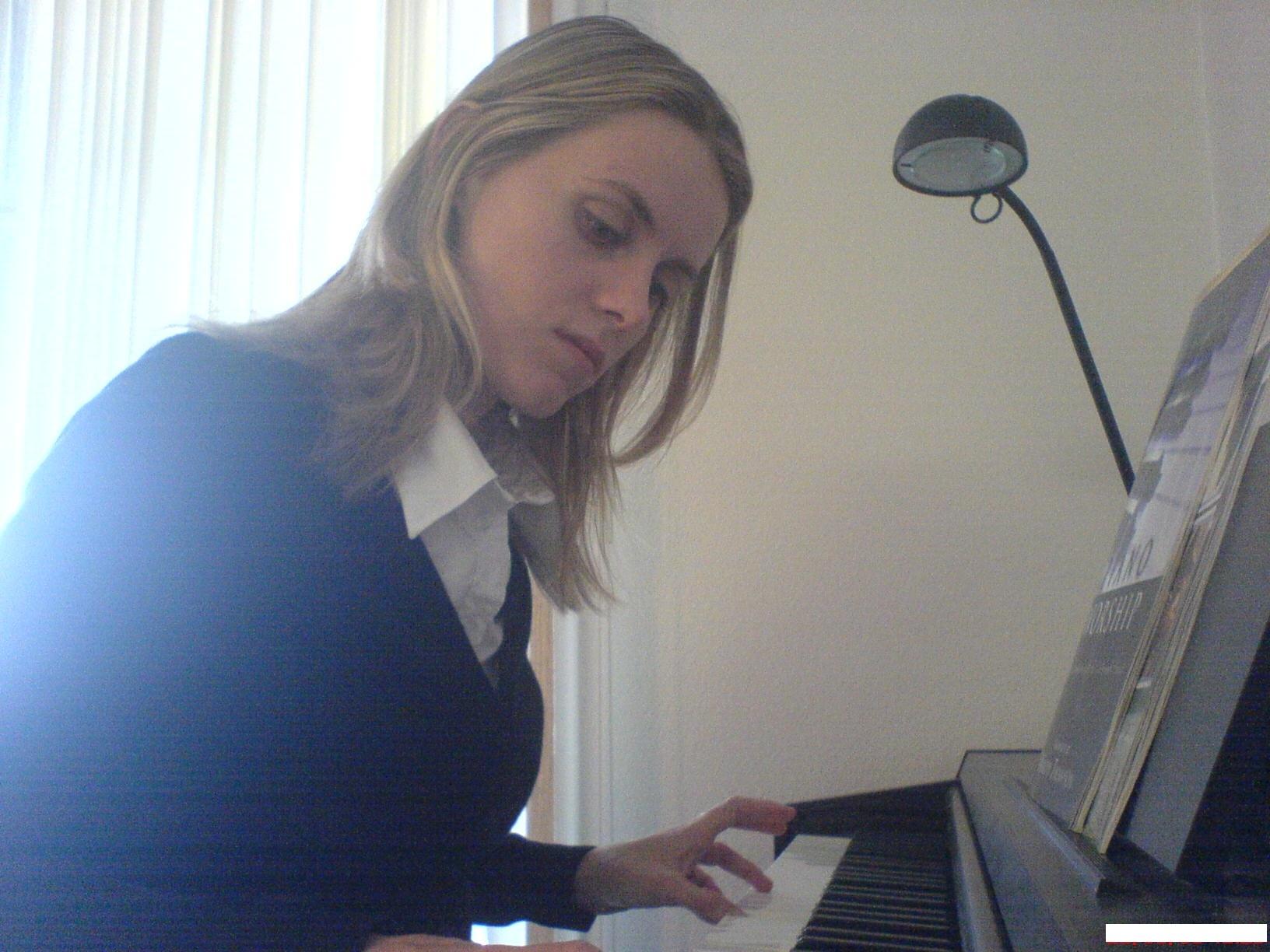 le piano et moi