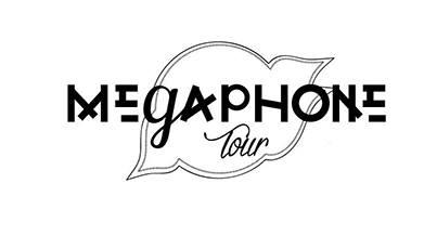 logo mégaphone tour