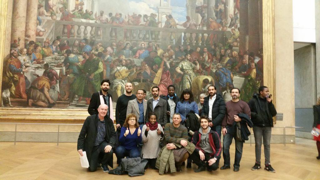 Louvre avec MDJ 21 12 2018