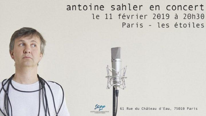 ANTOINE-SAHLER-live
