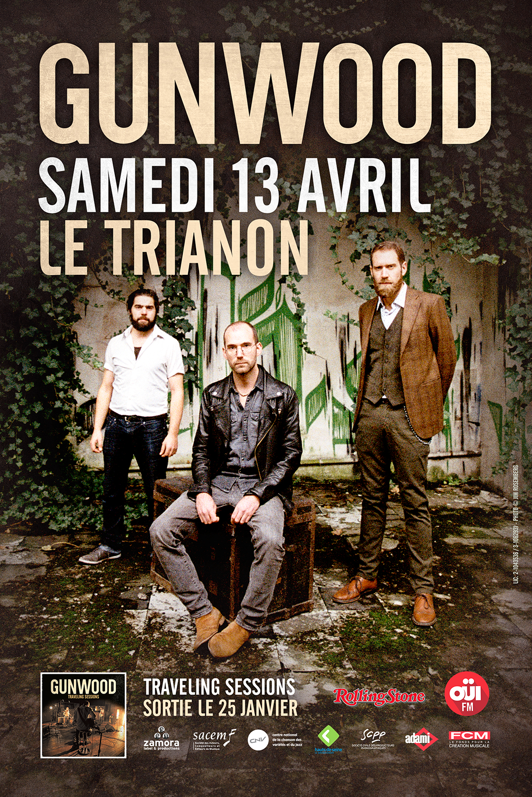 Gunwood au Trianon