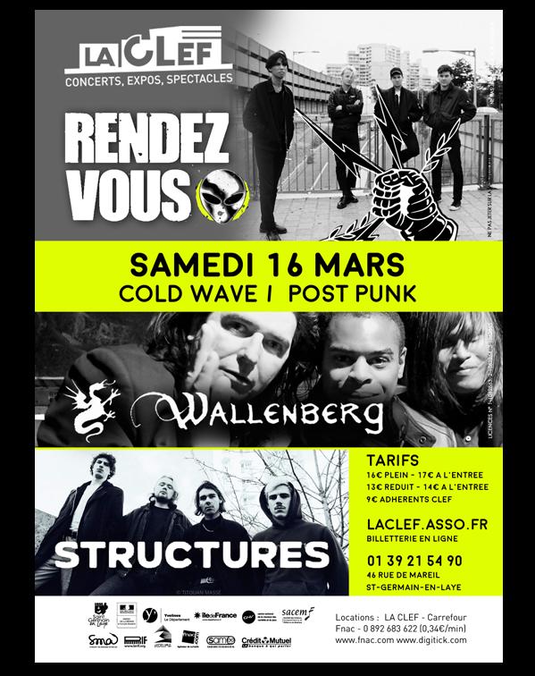 concert 16 mars à la CLEF