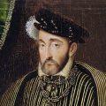 Portrait of Henri II (1519-59) (oil on panel) - Clouet, Francois (c.1510-72) (workshop of) - Louvre, Paris, France
