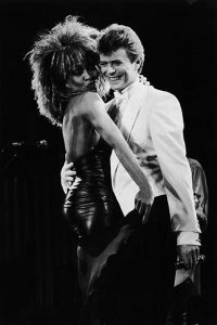 Avec David Bowie sur Private Dancer (1985)