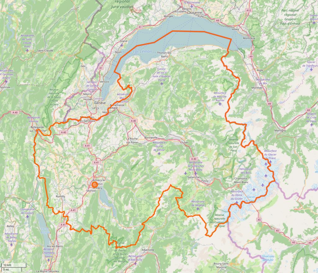 Haute-Savoie-OSM