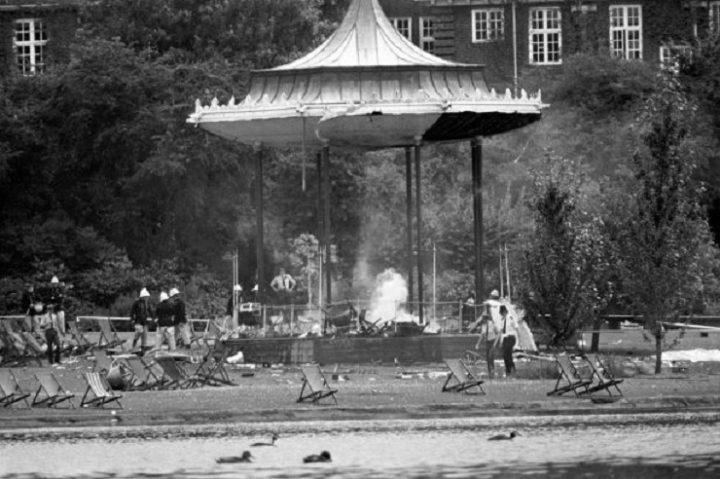 IRA bombing Regent's park 1082