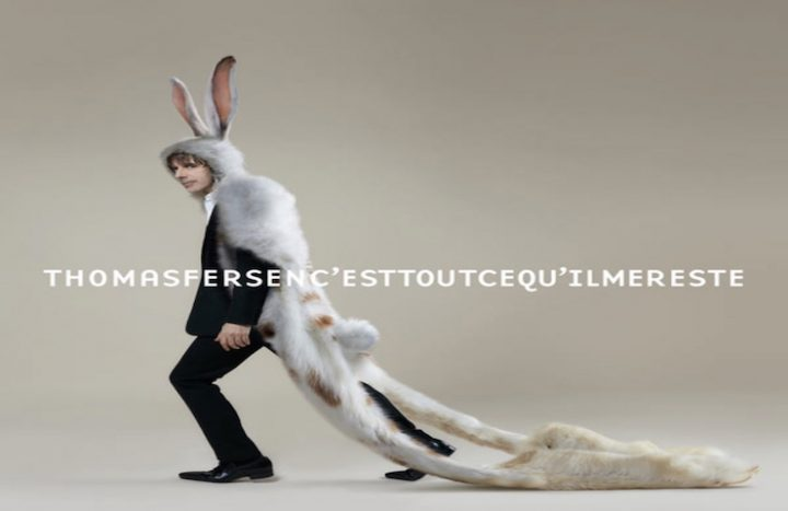 Pochette d'album de Thomas Fersen (sortie le 27.09.2019)