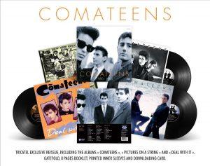 Comateens ré edition albums label Tricatel
