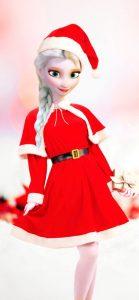 (c) La Reine des Neiges de Noël