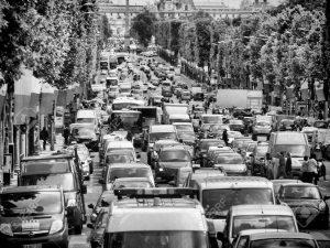 Paris, capitale française de l'embouteillage