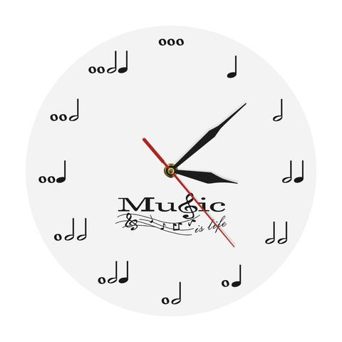 horloge musique