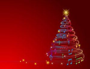 Xmas music tree