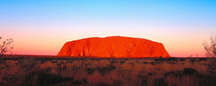Uluru, splendide monolithe du parc national