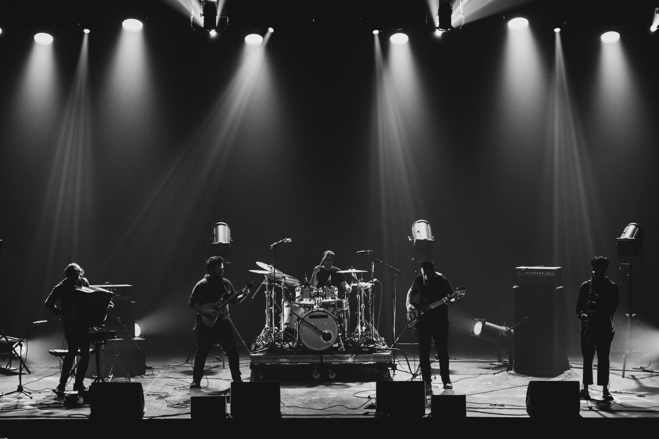 CKRAFT sur scène. Crédit photo: Lucie WLD