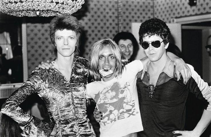 Bowie-Iggy Pop- Lou Reed