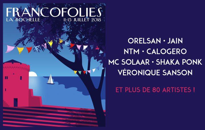 Francofolies 18